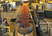 Manufacture of a steel wire