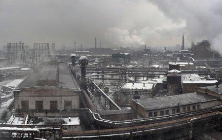 Photo pour Paysage industriel du complexe industriel métallurgique de l'industrie lourde - image libre de droit
