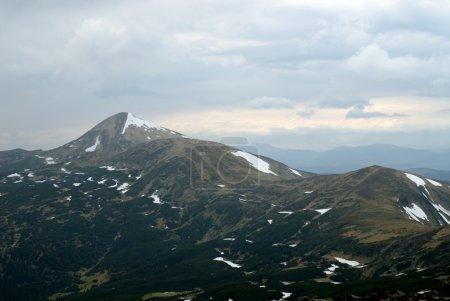 Mountain Goverla and Montenegro ridge