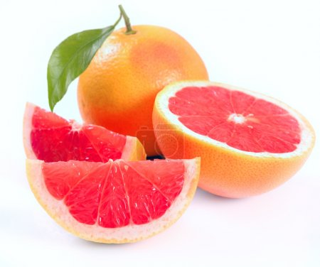 Grapefruit with segments