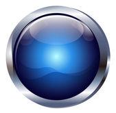 Glossy icon BlueButton