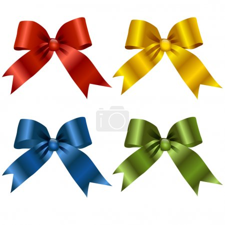 Illustration for Gift, ribbon, bow - Royalty Free Image