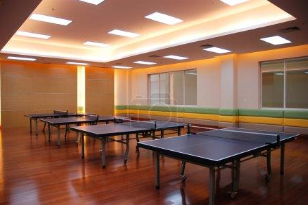 Table tennis field