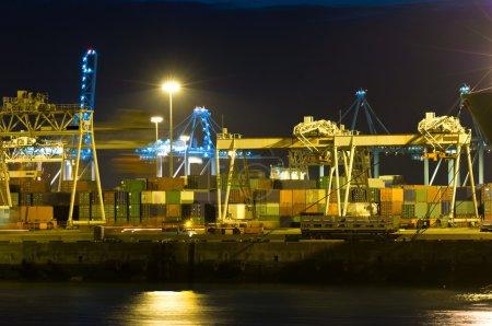 Harbor activity