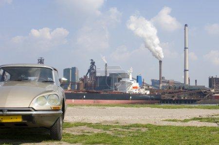 Citroen ds und Stahlwerke