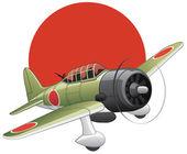 Japanese WW2 bomber plane