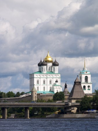 Cathedral in Kremlin of Pskov