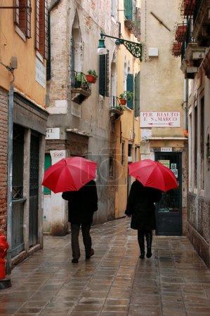 Photo pour Photo de la journée de pluie à Venise - image libre de droit