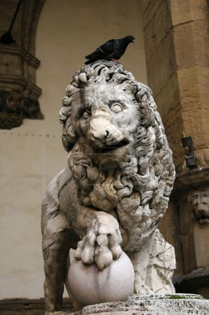 Lion of the Loggia of Lanzi, Florence