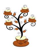 Cofee cups tree 1