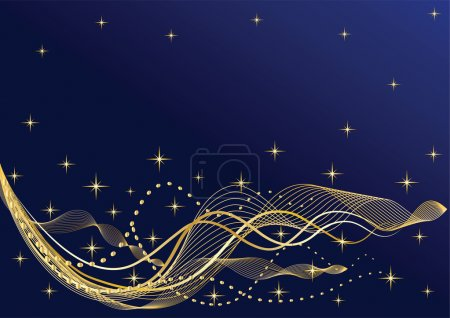 Abstract night background.