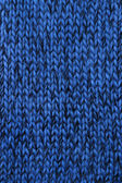 Blue knitted texture