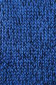texture tricotée bleu