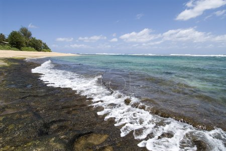 Beautiful beach in Kauaii