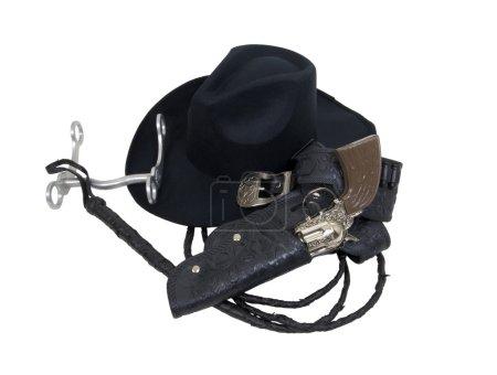 Cowboy Hat and Tools