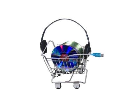 Online music shopping