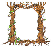 Tree-shaped photo-frame