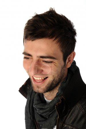 Fashion shot of a young man