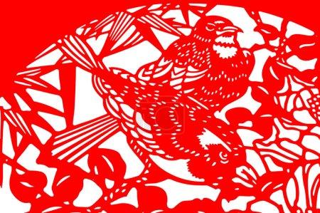 Chinese paper-cut art