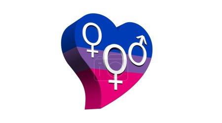 Bisexual woman love