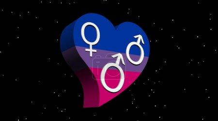 Bisexual man love