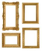 Vintage Detailed Gold Empty Picure Frame