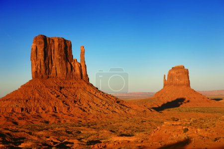 Photo for Buttes at Sunset in Monument Valley, Utah, USA - Royalty Free Image