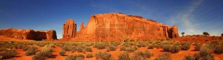 Photo pour Vue panoramique de la vallée de monument, la nation navajo, arizona - image libre de droit