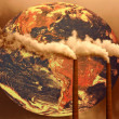 Concept of Future Planet Global Warming If Habits ...