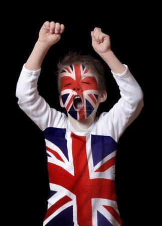 Photo pour Garçon Britannique - image libre de droit