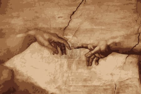 """the creation of Adam"""