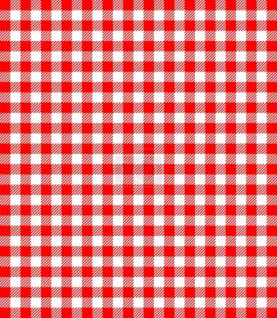 Illustration pour Modèle de fond populaire rouge et blanc pour les pique-niques - image libre de droit