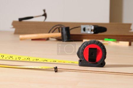 Flooring tools.
