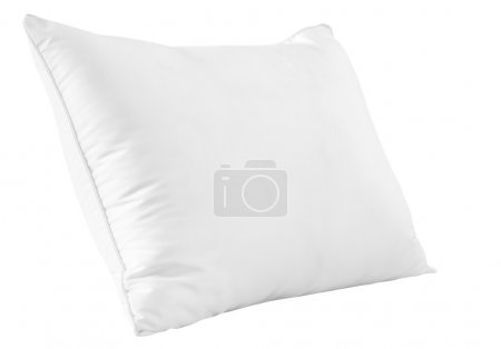 Photo for White pillow. - Royalty Free Image