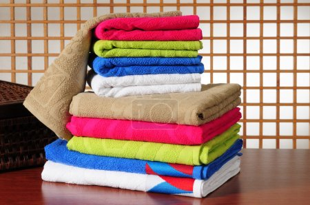 Photo for Clean laundry. - Royalty Free Image