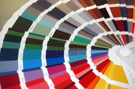 Photo for Colour chart - Royalty Free Image