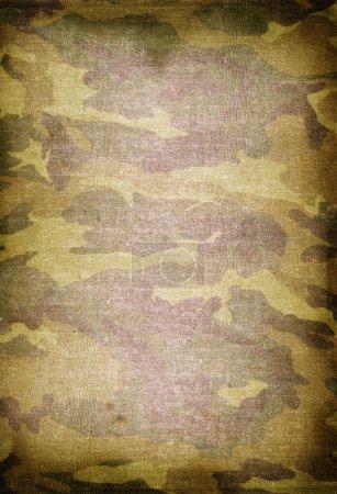 Foto de Textura del viejo patrón de camuflaje sucio - Imagen libre de derechos