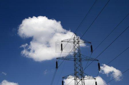 Photo pour L'énergie dans le ciel - image libre de droit