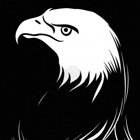 Photo for Illustration of an American eagle - Royalty Free Image