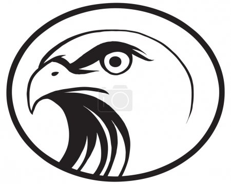 Photo for Design of an eagle sign - Royalty Free Image