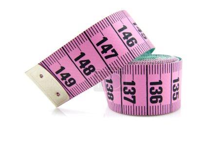 Pink measure tape
