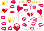 Valentine`s day vector