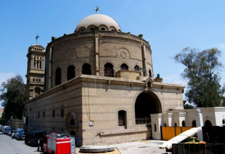 Hanging Coptic church in Cairo