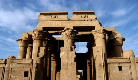 Temple of pharaoh Sobek in Kom Ombo