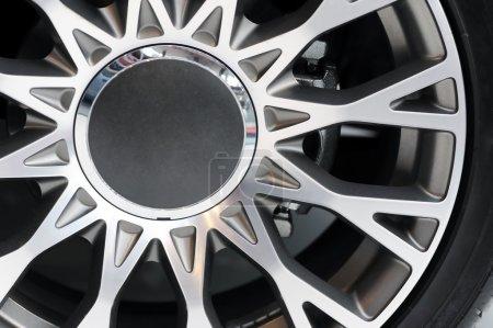 Close up image of wheel