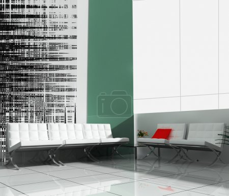 Modern interior of office exclusive design