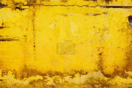 Photo for Dirty grunge yellow surface ideal for backgrounds and texture - Royalty Free Image