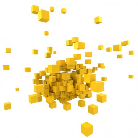 Yellow blocs