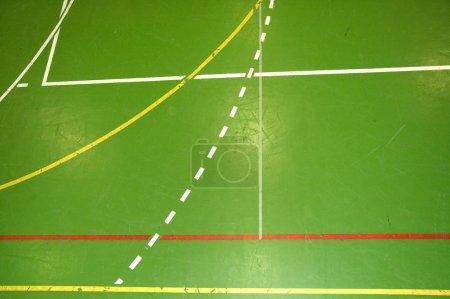 Photo pour Salle de sport détail étage - image libre de droit