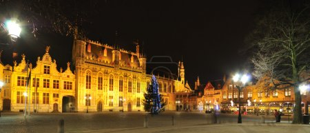 Night view of Brugge